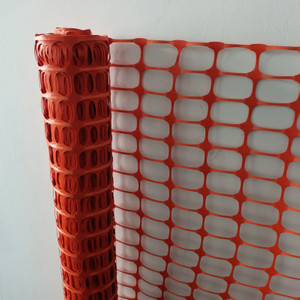 Durable Orange Snow Safety Fence