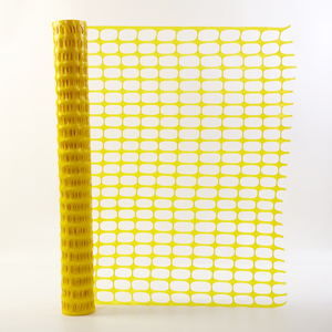 Foldable Yellow Construction Barrier Mesh