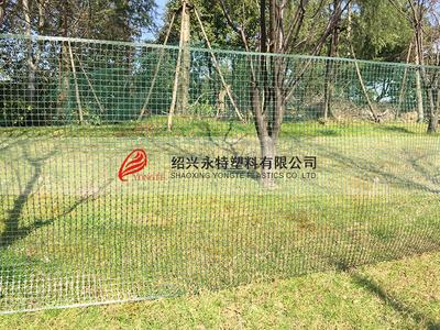 PE flexible Garden Plastic Square Mesh