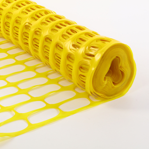 Foldable Yellow Outdoor Plastic Barrier Mesh