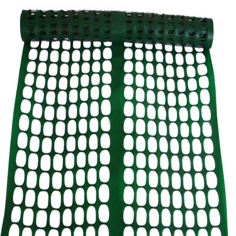 Rustproof Green Snow Safety Fence