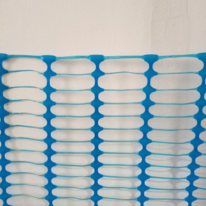 Customized Blue Crowd Control Barrier Mesh