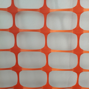 Rustproof Orange Snow Safety Fence