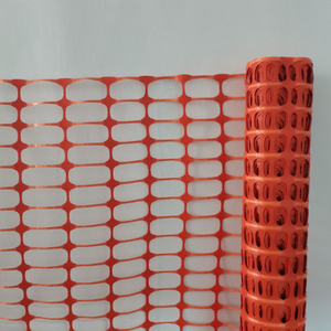 Multi-Purposed Orange Roadway Safety Fence