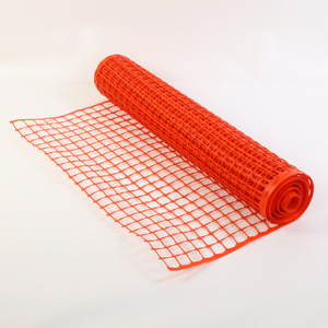 Rigid Orange Yard Plastic Safety Mesh
